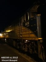 VIA Rail 6414 on the 615 West